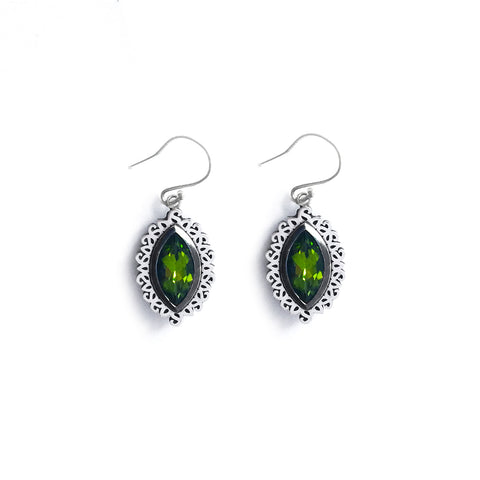 Arah Peridot Earrings