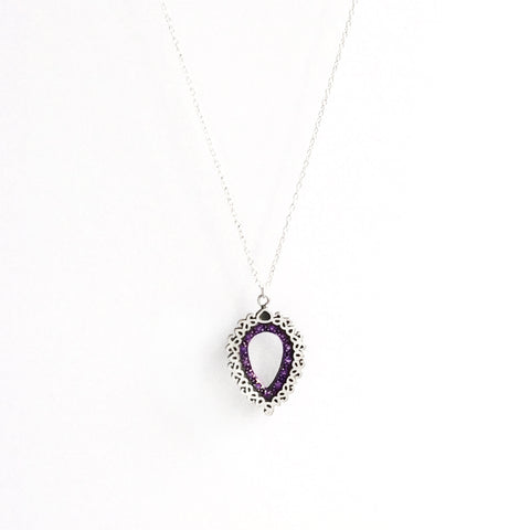 Arah Amethyst Necklace