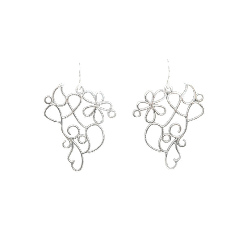 Henna Filigree Earrings