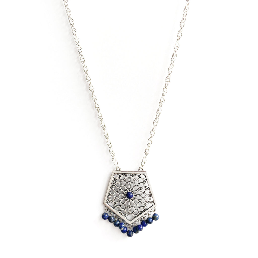 Laila Pentagon Necklace