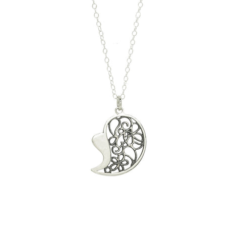 Heart Filigree Pendant