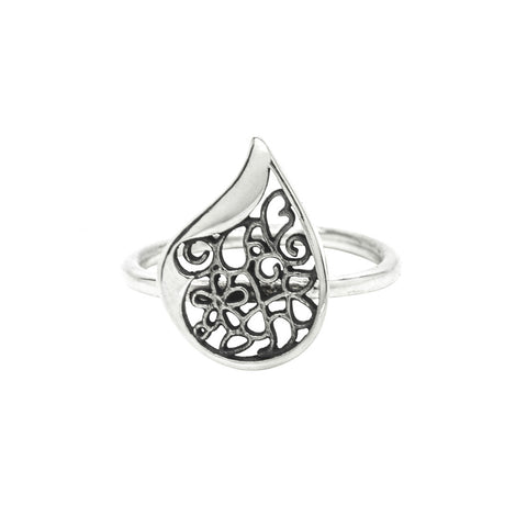 Paisley Filigree Ring
