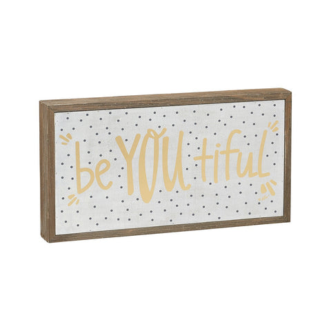 BeYOUtiful Barn Box Sign