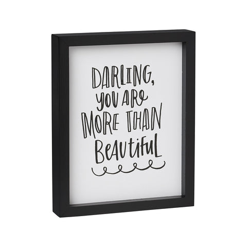 Darling Framed Box Sign