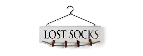 Lost Socks Laundry Hanger