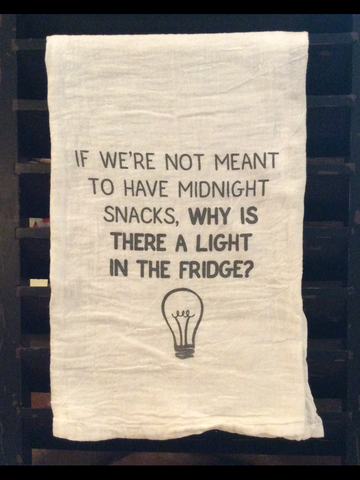Midnight Snacks Flour Sack Towel