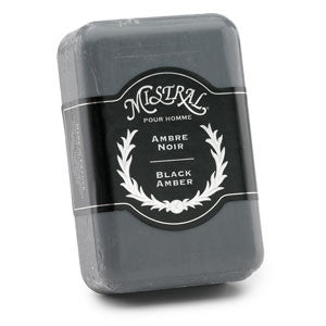 Black Amber Men's Soap