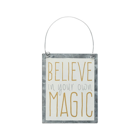 Believe In Your Own Magic Ornie