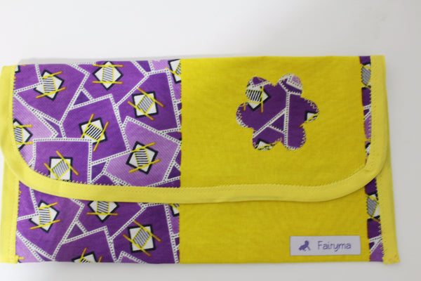 Baby clutch-Diaper/wipes holder