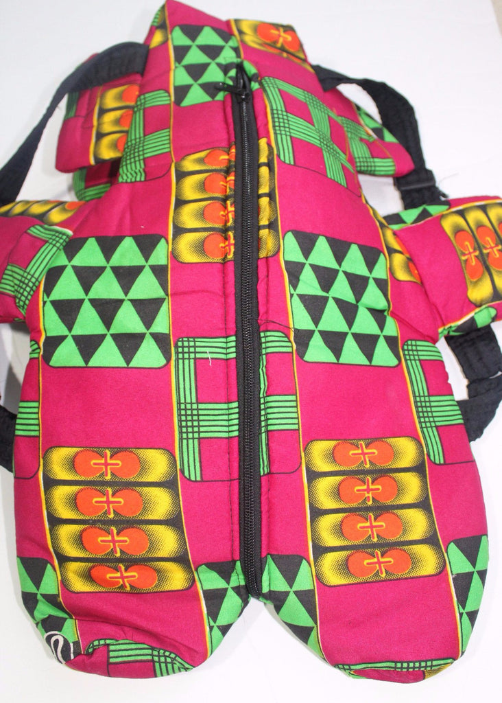 African Print Toddler backpack, school bag-Mix