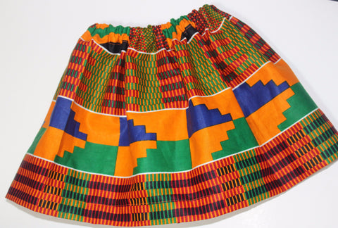 Kente toddler skirt-Meme