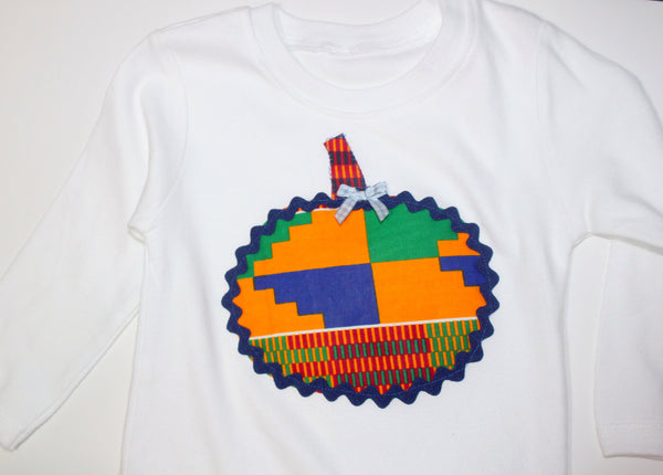 Toddler Kente cloth onesie-Meme