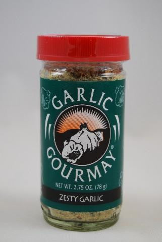 Zesty Garlic Seasoning 2.75oz.