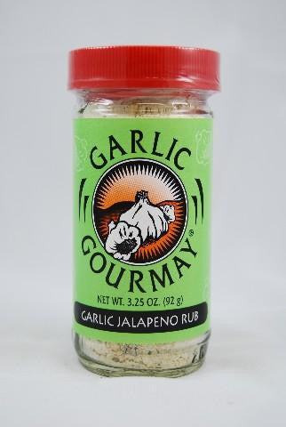 Garlic Jalapeno Rub  3.25oz.