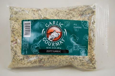 Zesty Garlic Seasoning Refill Bag 10oz. (4 Pack)