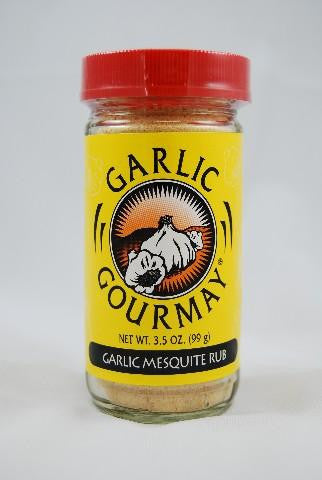 Garlic Mesquite Rub 3.5oz. (6 Pack)