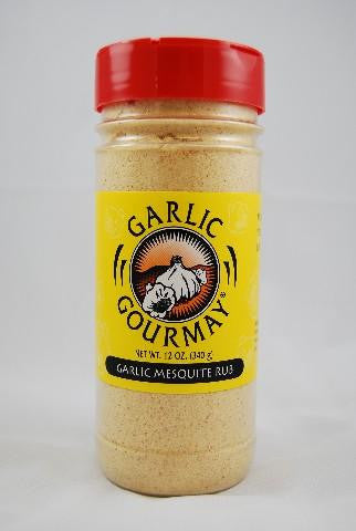 Garlic Mesquite Rub 12oz. (4 Pack)