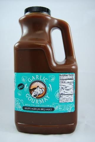 Happy Medium Barbecue Sauce 77oz. (4 Pack)