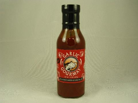 Backyard Inferno Barbecue Sauce 14oz. (6 Pack)