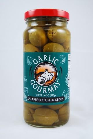 Jalapeno Stuffed Olives 16oz. (6 Pack)