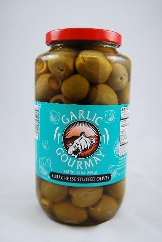 Blue Cheese Stuffed Olive 32oz. (4 pack)