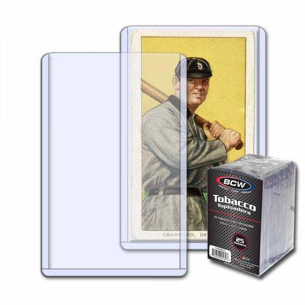 Tobacco Card Topload Holder 25 Ct. Pack Back Ordered Til Feb. 2021