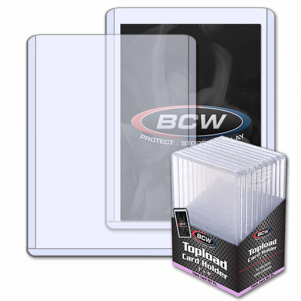 Thick Card Topload  Holder - 197 Pt. 10 Ct. Pack