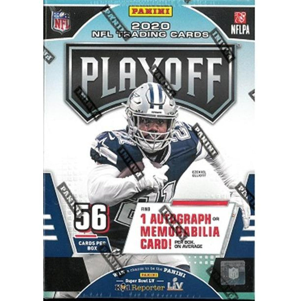 2020 Playoff Football Blaster Box