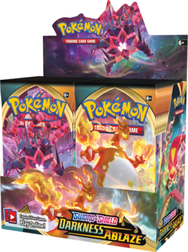POKEMON S&S DARKNESS ABLAZE FACTORY SEALED BOOSTER BOX