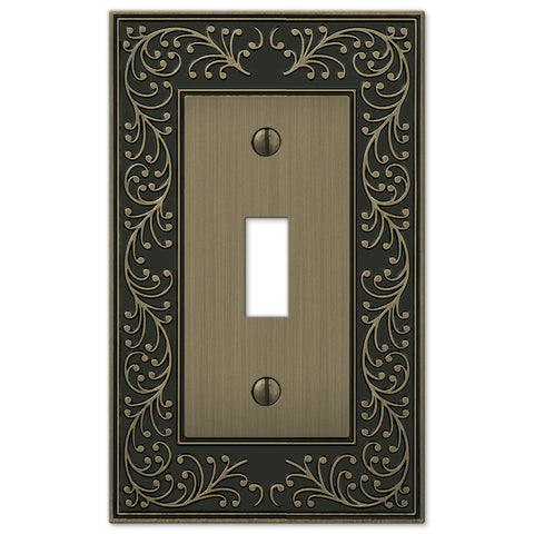 English Garden Brushed Brass Cast