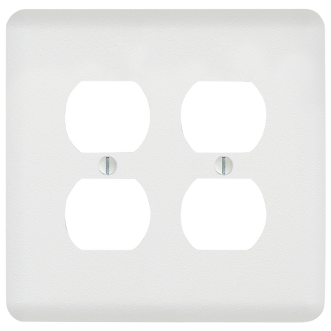 Perry Paintable - 2 Duplex Outlet Wallplate | 635DDW