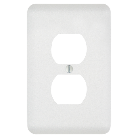 Perry Paintable - 1 Duplex Outlet Wallplate | 635DW