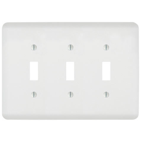Perry Paintable - 3 Toggle Wallplate | 635TTTW