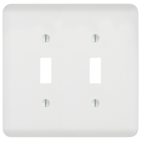 Perry Paintable - 2 Toggle Wallplate | 635TTW