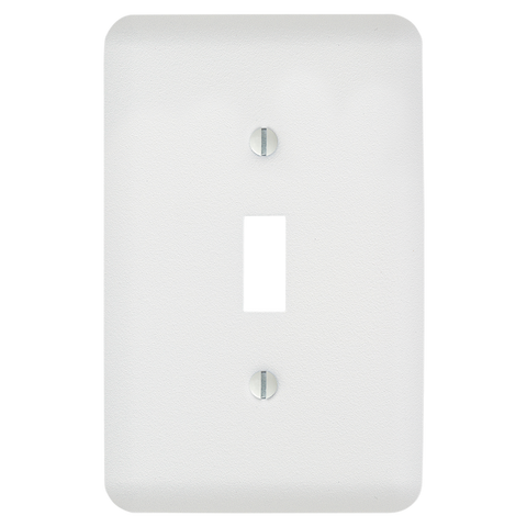 Perry Paintable - 1 Toggle Wallplate | 635TWHB