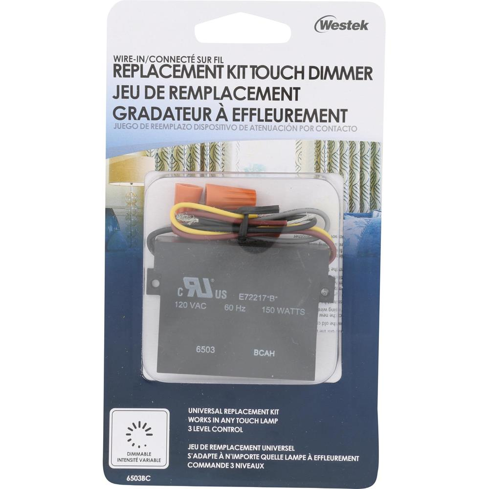 Indoor Wire-In 3-Level Touch Dimmer Replacement | 6503BC