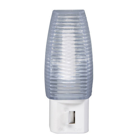 LED Faceted Manual On/Off Night Light
