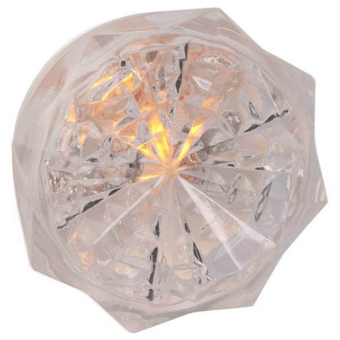 Neon Jewel, Automatic Night Light, Clear