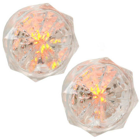 Neon Jewel, Automatic Night Light, Clear, 2pk