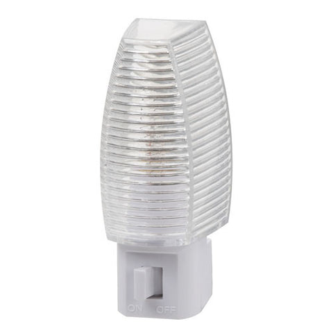 Faceted Night Light, Manual, White