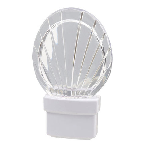 Seashell, White LED Bulb, Night Light | 71076