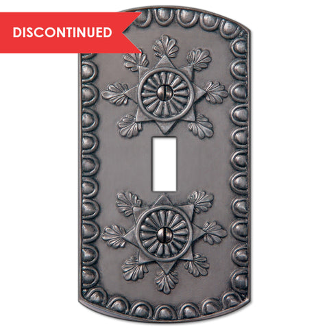 Amiens Antique Pewter Resin - 1 Toggle Wallplate | 8353TAP