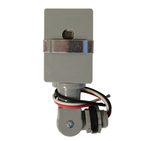 Outdoor Wire-In Dusk To Dawn Swivel Mount Light Control