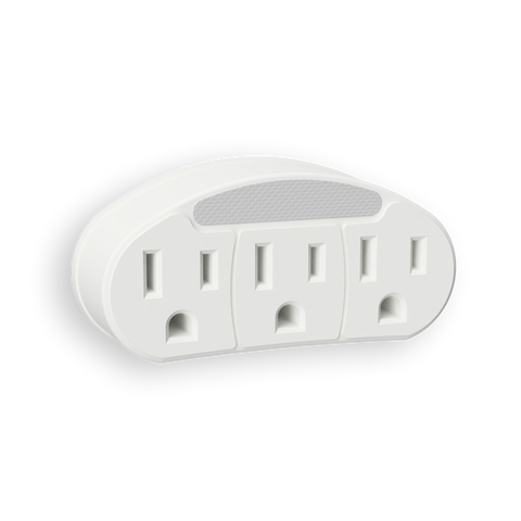 Outlet Adapter Neon Night Light | NL-OTAD-W