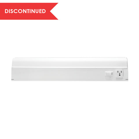Convertible Fluorescent Cabinet Light, 18"