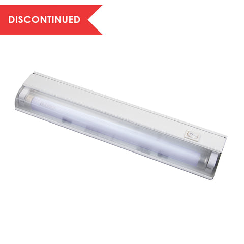 Slim Line Series Wire-in Fluorescent Cabinet Light, 13"