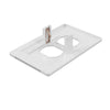LumiCover Core Classic Nightlight Wallplate, White | LCR-CCDO-W