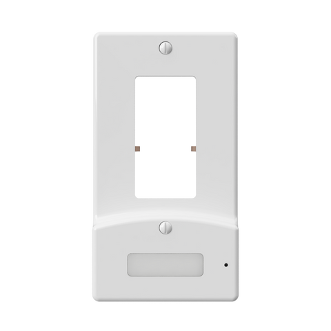LumiCover Power Failure Nightlight Wallplate, White | LCR-PDDO-W