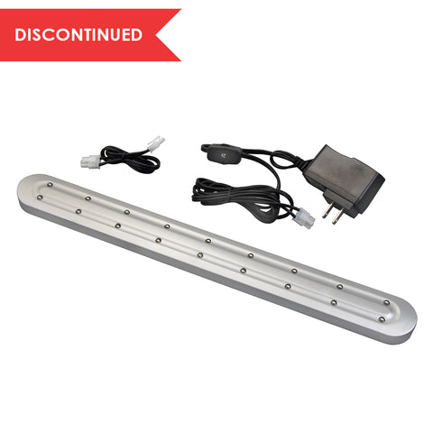 LED Slim Under Cabinet Light, Nickel, 16"