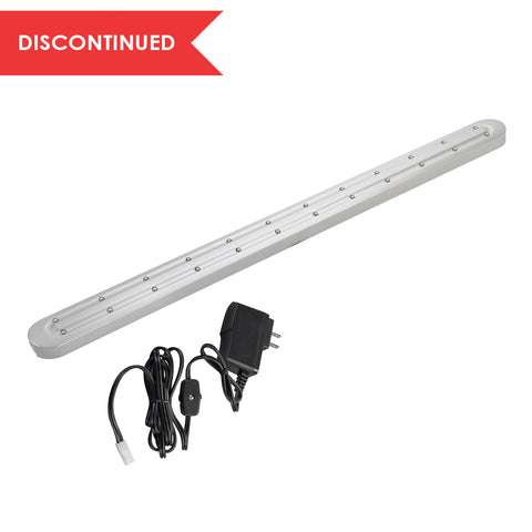 LED Slim Under Cabinet Light, Nickel, 22"